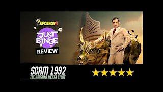 Scam 1992 - The Harshad Mehta Story Review | Pratik Gandhi | Just Binge Review | SpotboyE