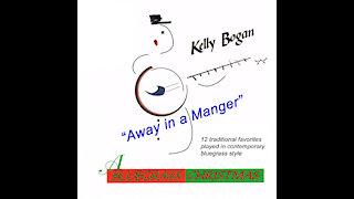 Bluegrass instrumental - Away in a Manger - Kelly Bogan