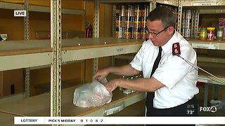 Salvation Army seeks community help at their food pantry in Fort Myers