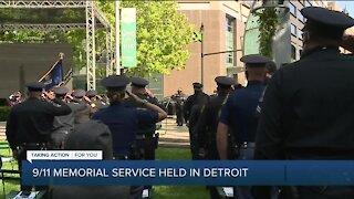 9/11 memorial service held in Detroit