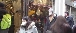 Bad breath realization wearing a mask