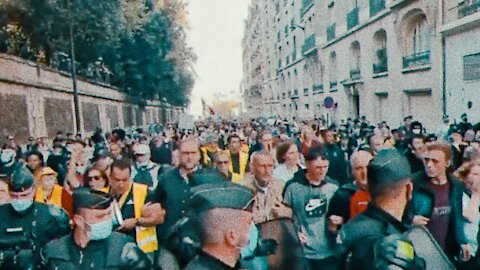 French Police Seem To Join The Protests Against Presidents Vaccine Mandates   21.07.2021