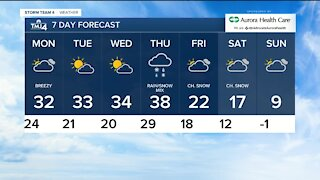 Lake effect snow winds down Sunday evening