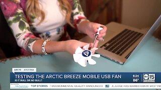 Does the Arctic Breeze USB fan work?