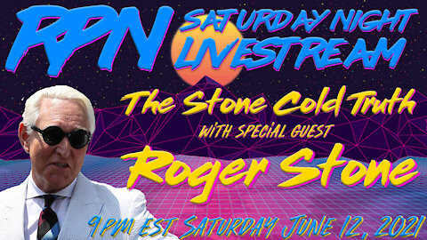 Roger Stone Joins Zak Paine on RedPill78 Sat. Night Livestream