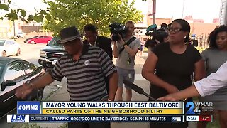 Mayor Young talks crime and filth in Baltimore