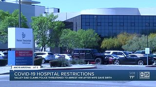 Hospital restrictions in place amid COVID-19