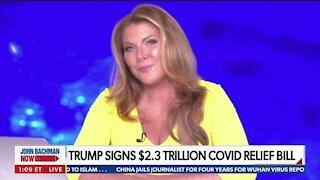 TRUMP SIGNS $2.3 TRILLION COVID RELIEF BILL