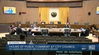 Hours of public comment at Phoenix City Council