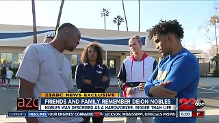Friends and family remember Deion Nobles