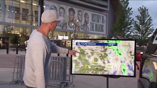 Cooler weather Wednesday, partly cloudy