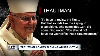 Retired Bishop Trautman admits he blamed victim of clergy sex abuse