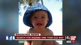 Deputies searching for missing, endangered Tampa 1-year-old