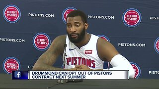 Andre Drummond answers questions about potential opt-out in Detroit