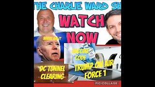 Charlie Ward: Vaccines, DC Tunnels, Trump