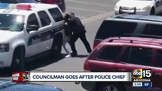 Councilman goes after Phoenix police chief