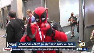 San Diego Comic-Con agrees to stay through 2024