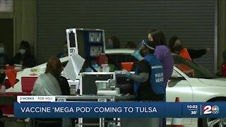 COVID-19 vaccine 'megapod' coming to Tulsa