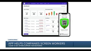 App helps companies screen workers
