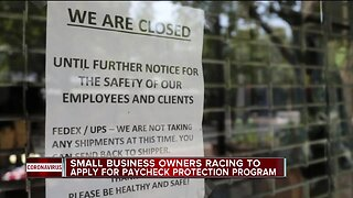 Small business owners racing to apply for Paycheck Protection Program