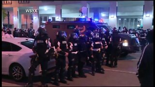 WATCH: Protests for George Floyd breakout in Columbus