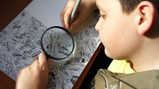 amazing Drawings by a little boy