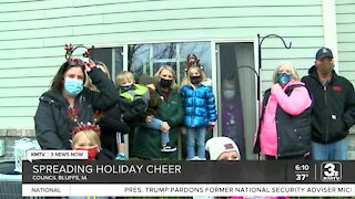 Family spreads holiday cheer by donating Christmas trees to Primrose residents