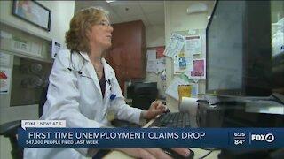547,000 Americans sought unemployment benefits last week, a new pandemic low