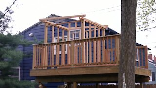 Zoning board denies tree house variance request; family not giving up