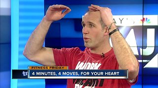 Fitness Friday: How to improve your heart health in just four minutes a day