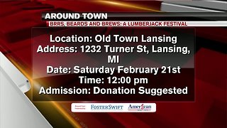 Around Town 2/21/19: BRRS, Beards and Brews: A Lumberjack festival
