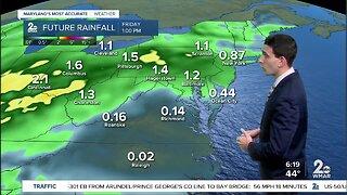 Heavy Rain Returns Wednesday-Thursday