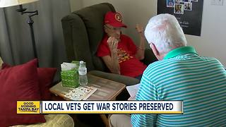 Local veterans get permanent place in history