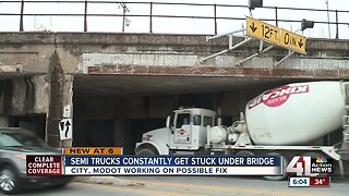 2 crashes in 2 weeks at 'truck stop' bridge on Independence Avenue
