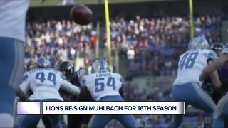 Lions re-sign Don Muhlbach for 16th season