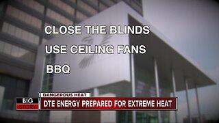 Metro Detroiters, DTE prepare for rising temperatures