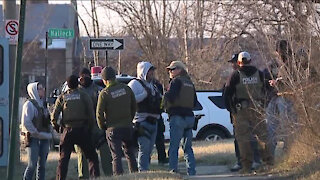 Barricaded situation ends on Detroit's east side as double murder suspect surrenders