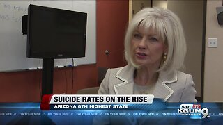 Arizona mental health expert: Suicide rates have 'sky-rocketed'