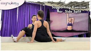 Side Split Supporting Exercise
