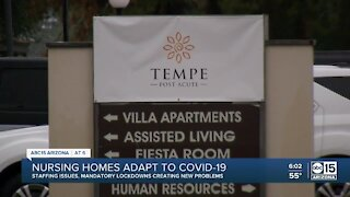 Nursing homes adapt to new challenges amid COVID-19 response