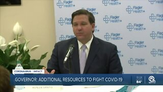 Governor DeSantis: Additional resources to fight COVID-19