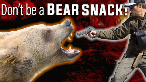 How To Survive a Bear Attack! (Grizzly Bear or Black Bear)