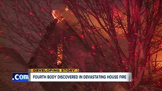 Fourth body found after house fire in Cleveland