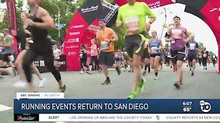 In-Depth: Running events return to San Diego