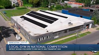 Making A Difference: Downtown Boxing Gym youth program needs votes for a new van