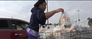 Las Vegas food distribution site to reopen
