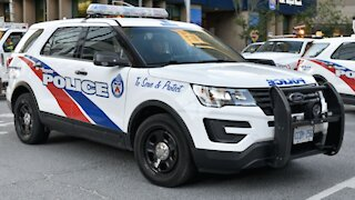 Toronto Police Are Responding To A Third Report Of Bottles Falling From A Building