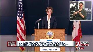 Reynolds Following Modified Quarantine