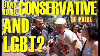 Can You Be LGBT AND Conservative? | San Francisco Pride Parade