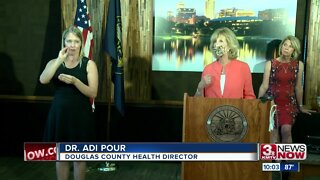 Omaha Mayor, county health director provide COVID-19 update